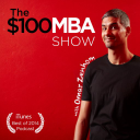 The $100 Mba logo icon