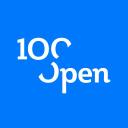 100%Open logo icon