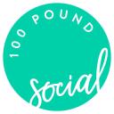 100 Pound Social logo icon