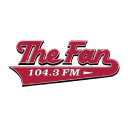 104.3 The Fan logo icon