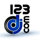 123dj logo icon