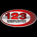 123 Employee logo icon