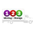 123 Moving & Storage logo icon