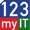 123 My It logo icon
