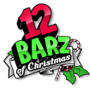 The 12 Barz Of Christmas logo icon