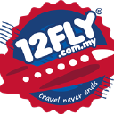 12 Fly logo icon