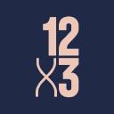 12 X3 Gym logo icon