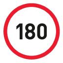 180 logo icon