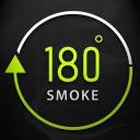 180 Smoke logo icon
