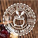 180 Snacks logo icon