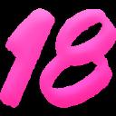 18 Vr logo icon