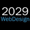 2029 Web Design logo icon