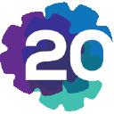 20 Cogs logo icon
