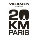 événement réalité virtuelle - Logo de l'entreprise 20 kilomètres de Paris pour une préstation en réalité virtuelle avec la société TKorp, experte en réalité virtuelle, graffiti virtuel, et digitalisation des entreprises (développement et événementiel)