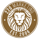 220 Marketing logo icon