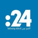 24 للدراسات الإعلامية : logo icon
