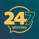 247meeting logo icon