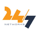 24/7 Networks logo icon