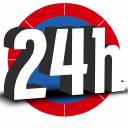 24h logo icon