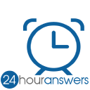 24 Hour Answers logo icon