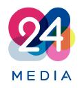 24 Media Digital Media Group logo icon