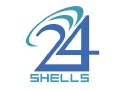 24 Shells Network logo icon