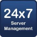 24x7 Server Management logo icon