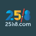 25h8 logo icon