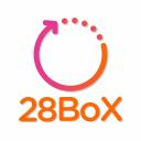 28 Bo X logo icon
