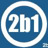 2b1 Inc. logo