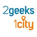 2geeks1city logo icon