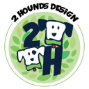 2 Hounds Design logo icon