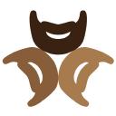 3beards logo icon
