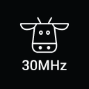 30 M Hz logo icon