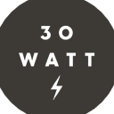 30 Watt logo icon
