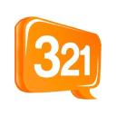321 Chat logo icon