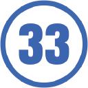 33 Mile Radius logo icon