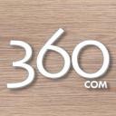 360com logo icon