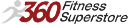 360 Fitness Superstore logo icon