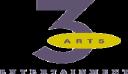 3 Arts Entertainment logo icon