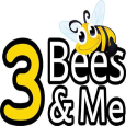 3 Bees and Me Logo