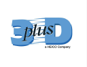 3 D Plus logo icon