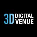 3 D Digital Venue logo icon