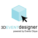 3 D Event Designer logo icon