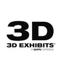3 D Exhibits logo icon