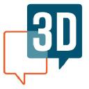 3 D Group logo icon
