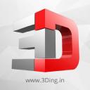 3 Ding logo icon