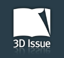 3 D Issue logo icon