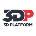 3 D Platform logo icon