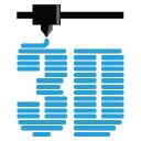 3 D Printer Universe logo icon